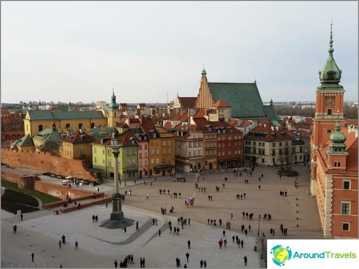 Замък площад - Стария град