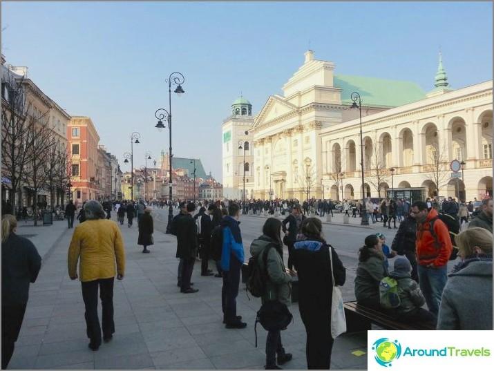 Предградие Краков - центърът на Варшава