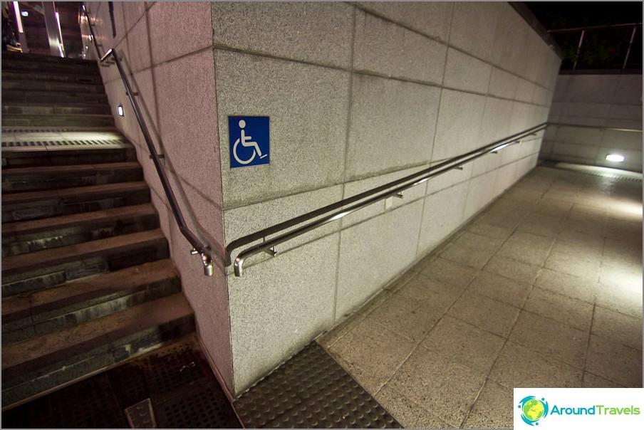 Vammaisille on kaikkialla