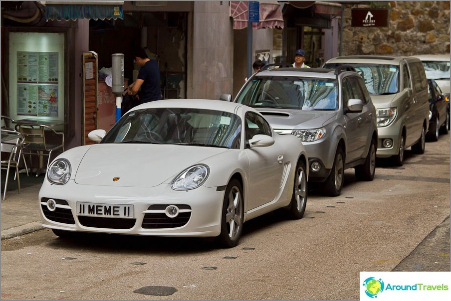 Porsche on kadulla koko ajan.