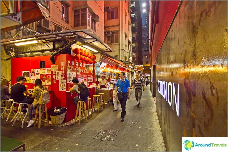 Kiinan kuja kapeilla kaduilla