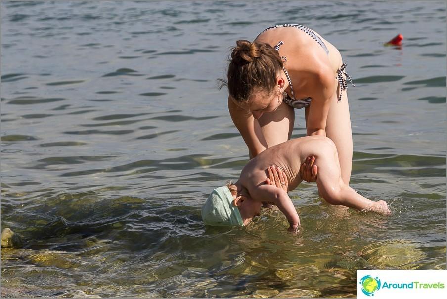 Започваме да плуваме от главата :)