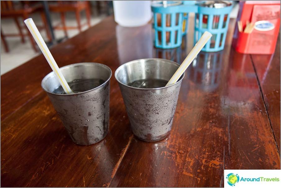 Ilmainen jäävesi - vain halvoissa kahviloissa