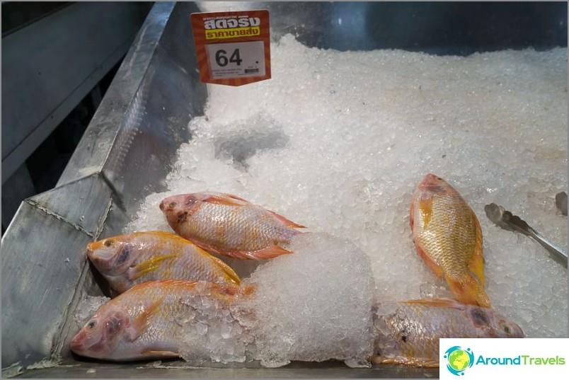 Kala 64 bahtia / kg