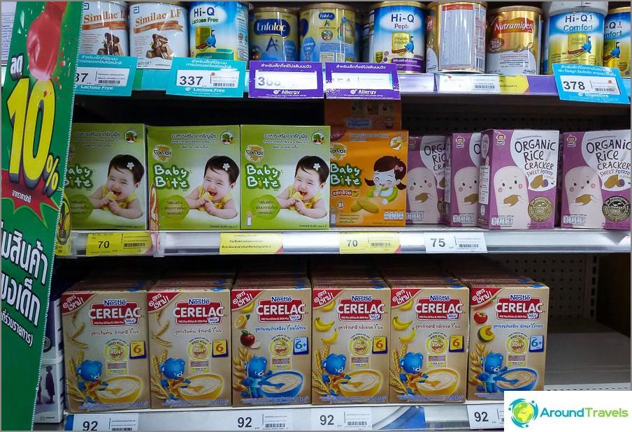 Maitovalmiste ja vauvanruoka