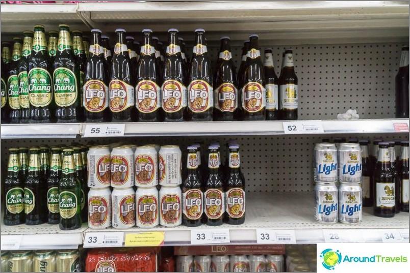 Olut, hinta pullolta