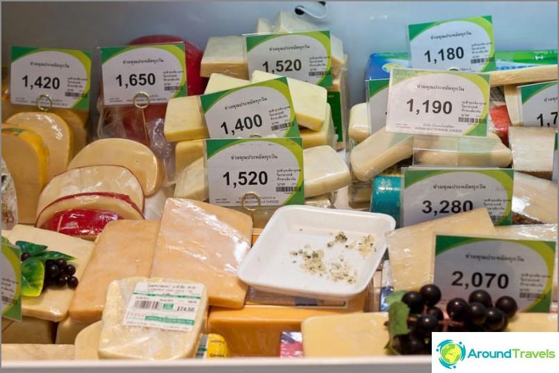 Mutta joissain paikoissa on kallista juustoa