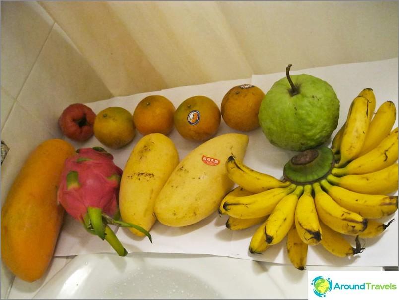 Тропически плод Тайланд