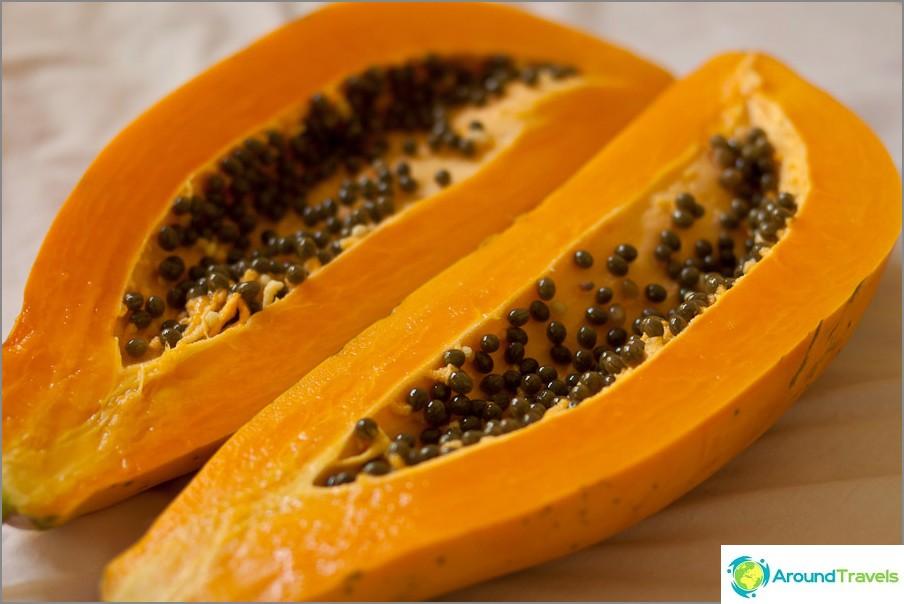 Папая или манго - най-добрата закуска в света