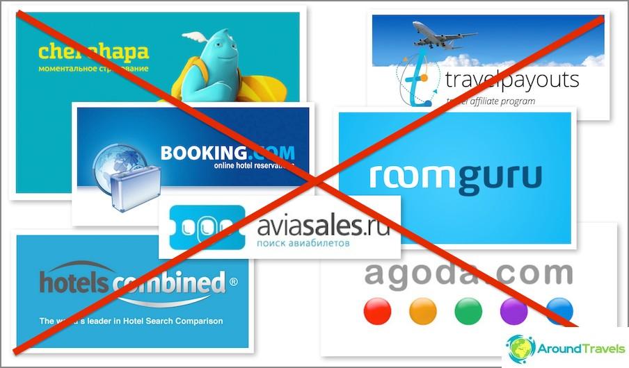 Kumppaniohjelmat matkailuun eivät sovellu matkablogeihin