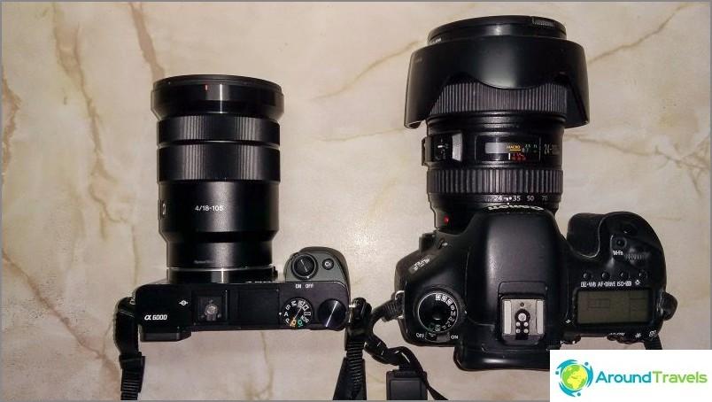 ماذا تختار DSLR أو بدون مرآة