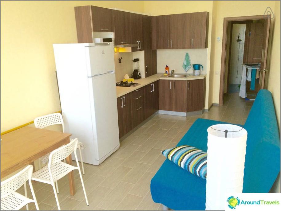 Как да наемете апартамент в Геленджик през деня и без посредници - Airbnb selection