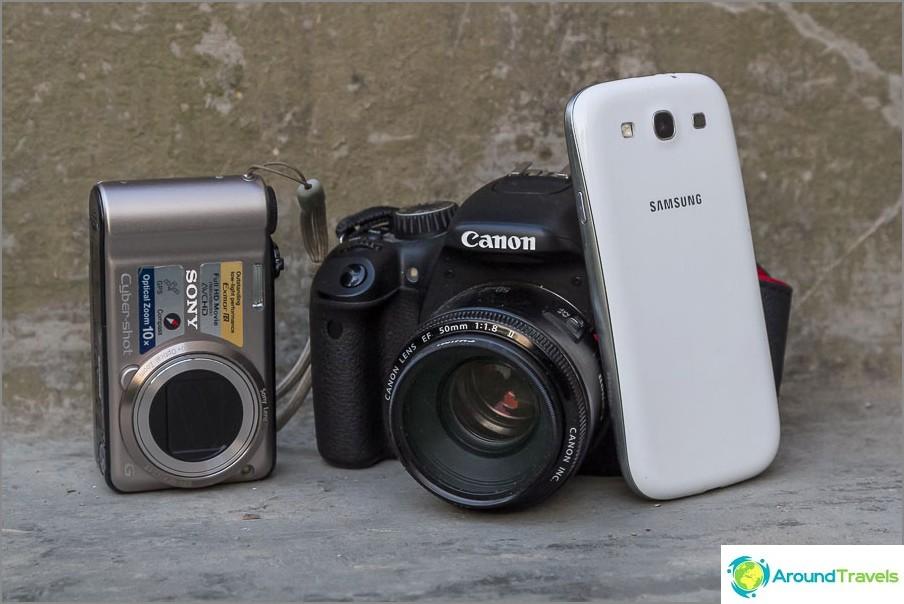 Mikä kamera valitaan aloittelijavalokuvaajalle
