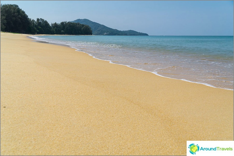Itse Mai Khaon ranta on myös melko hyvä