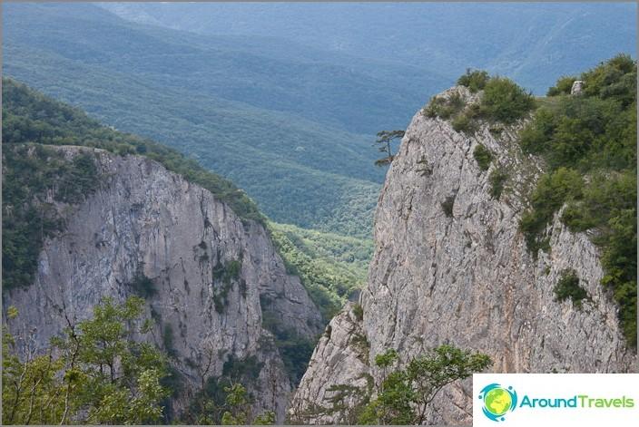 Krimin suuri kanjoni.