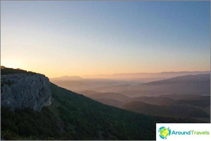 Auringonnousu Krimissä.
