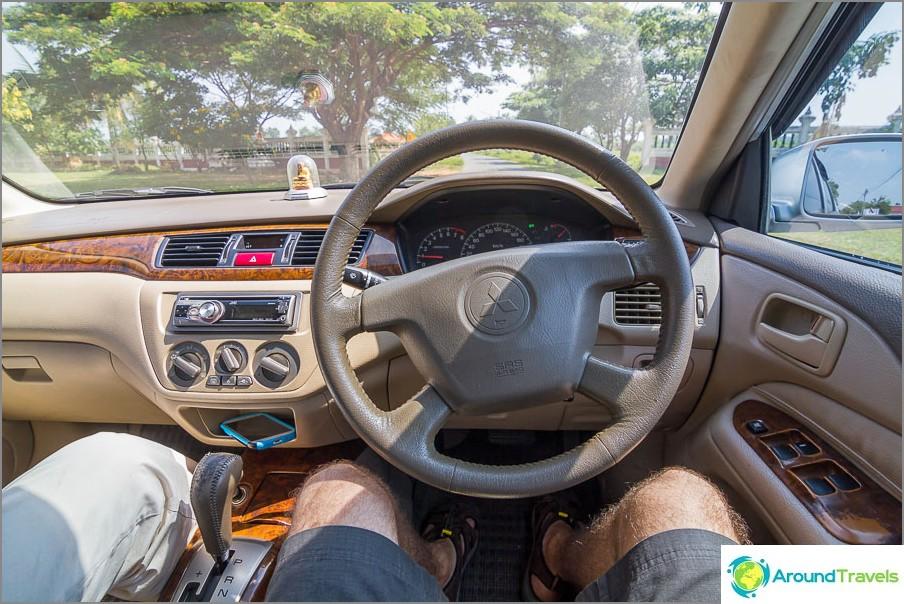 Autonvuokraus Thaimaassa