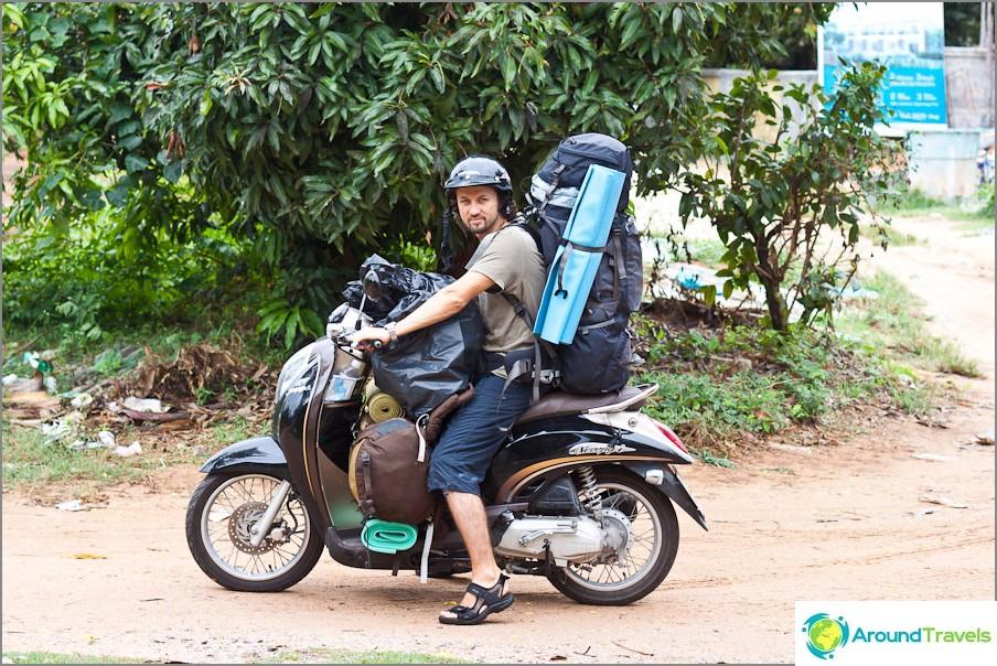 Polkupyörän vuokraus Thaimaassa