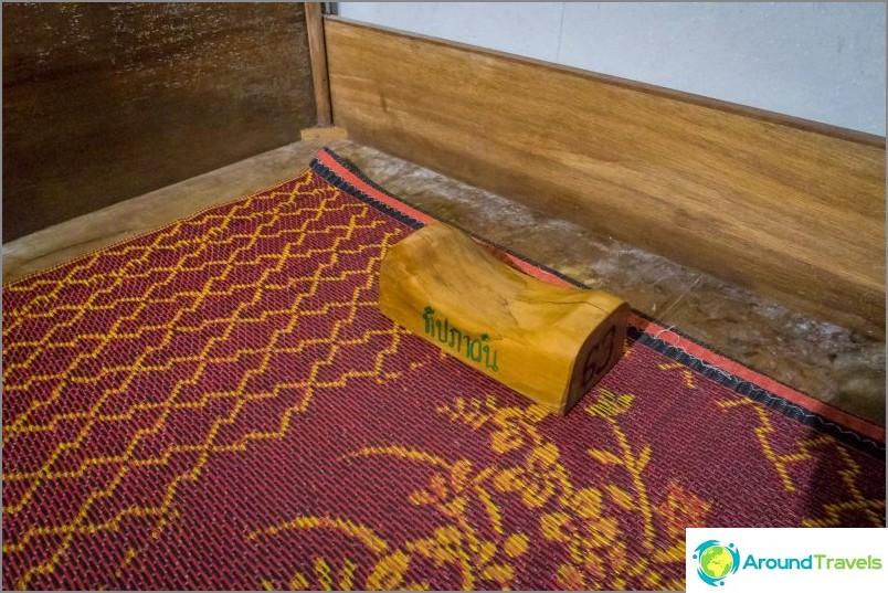 Дървена възглавница за много напредналите