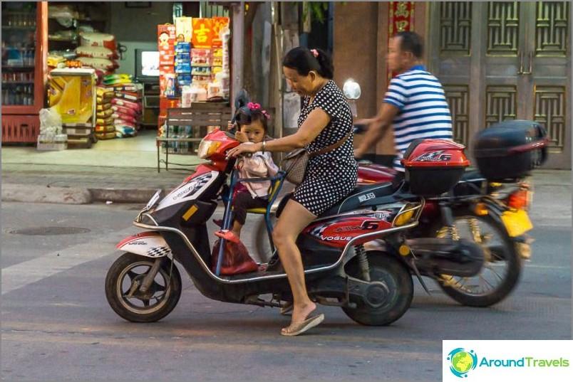 Lastenistuin pyörälle