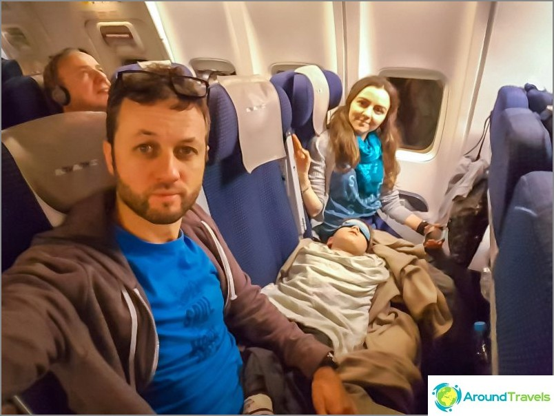 Lento oli ilmainen, mutta saapui erittäin epämukavaksi yöllä