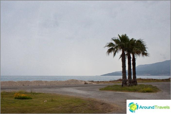 Плажовете между Kumluca и Finike.