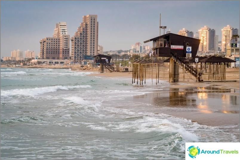 Israelilla on meri