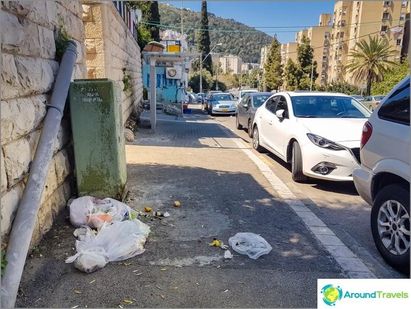 Ulkosymbolit Haifassa, Kiryat Eliezerin piiri