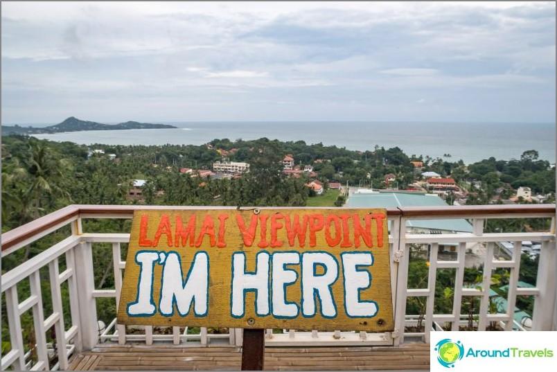 Lamai ViewPoint - най-известната наблюдателна площадка в Koh Samui