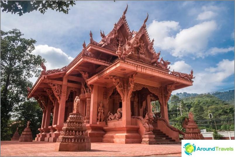 Punainen temppeli Koh Samuilla