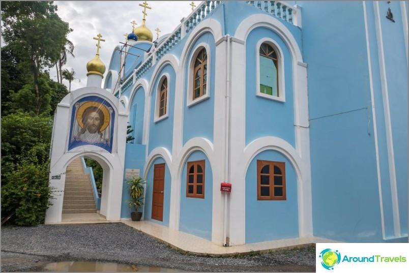 Ortodoksinen temppeli Koh Samuilla