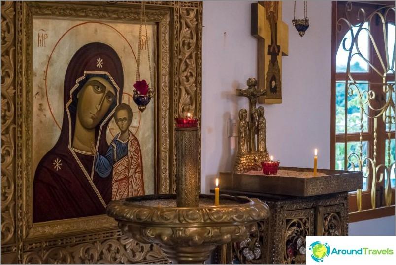 Ortodoksinen temppeli Koh Samuilla - ylösnousemuksen katedraali