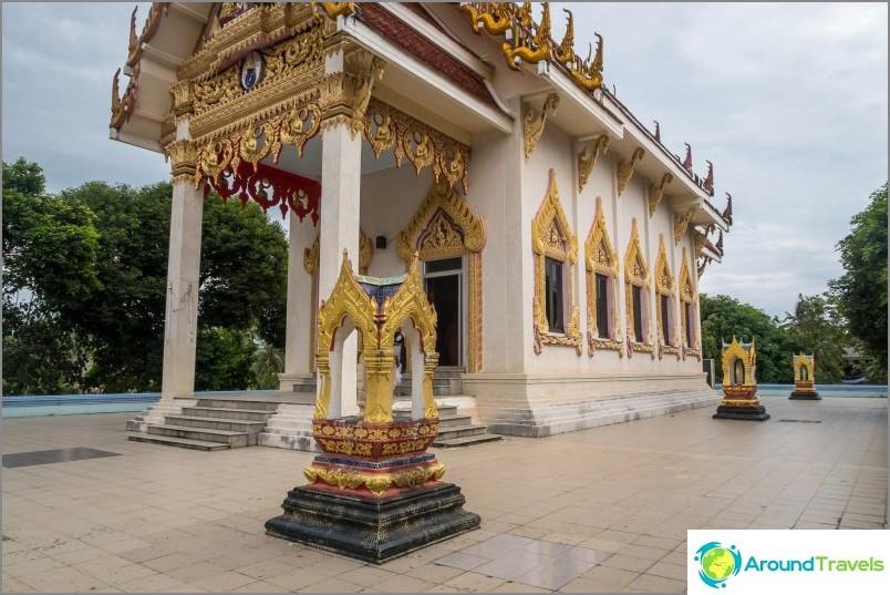 Temppelin päärakenne on suljettu