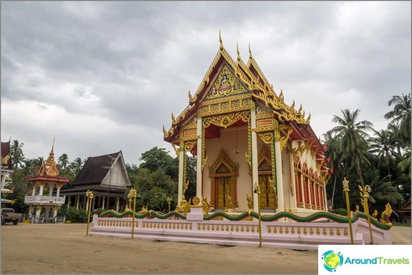 Kiri Wongkaram -temppeli restauroinnin jälkeen