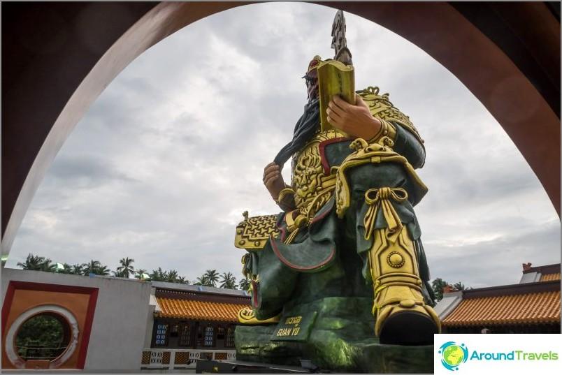 Guan Yu -suojelualue Samuilla - paikka, jossa sukupolvet kommunikoivat