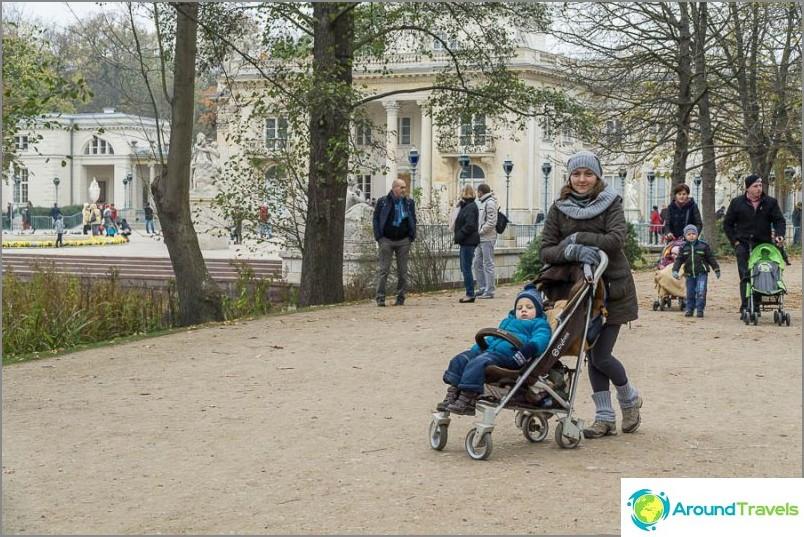 Lazienki-puisto