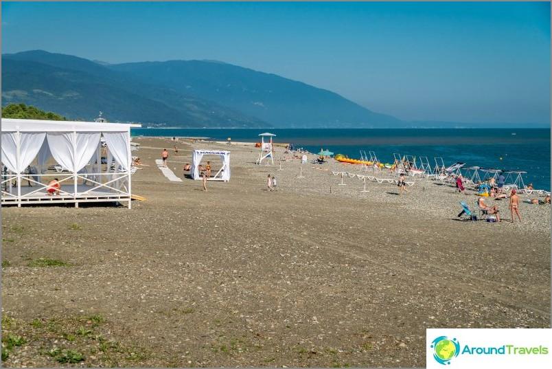 Löysin uuden rannan Abhasian ja Venäjän rajalta