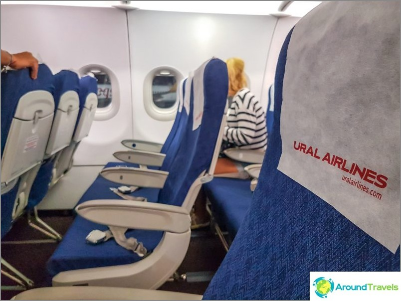 Lento Ural Airlines, Tel Aviv - Moskova