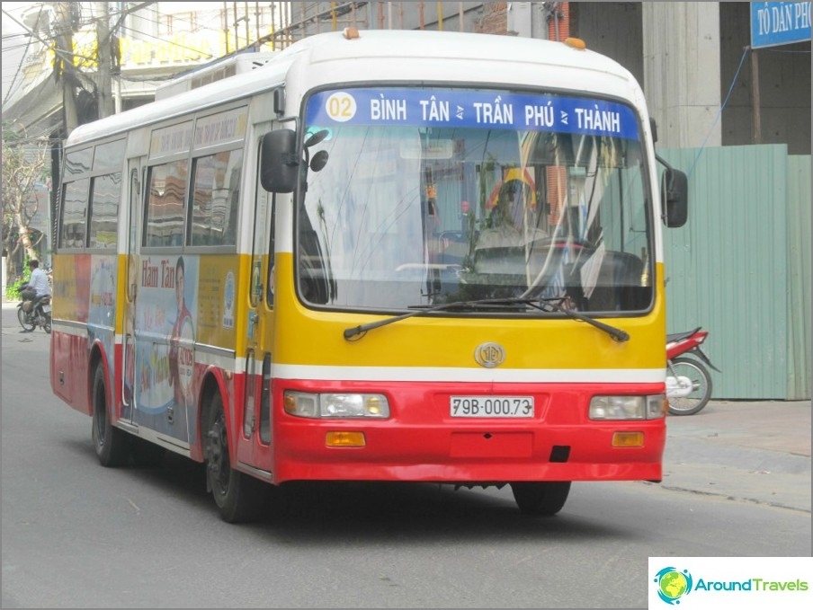 Kaupunkibussit Vietnamissa