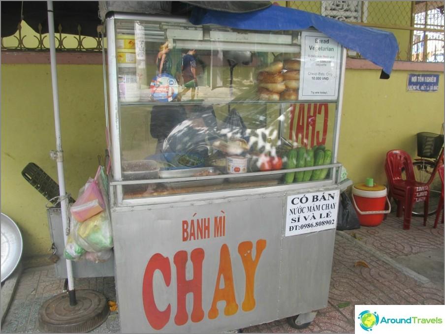 Street-pikaruoka Vietnamissa