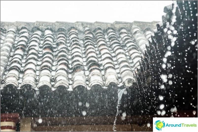 Дъждове в Сан Кристобал
