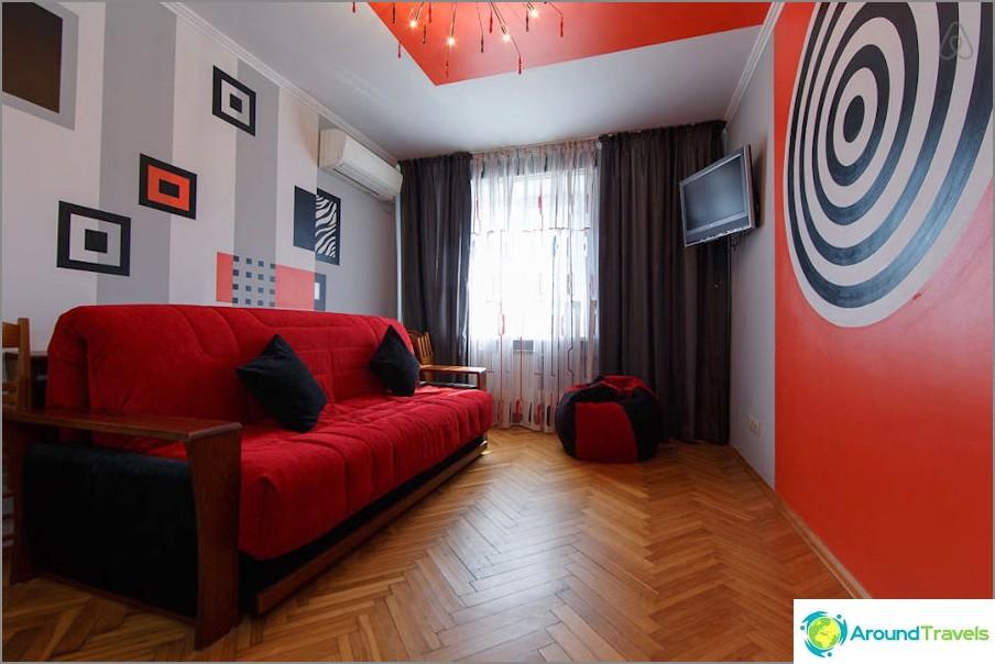 Как да наемете апартамент в Анапа през деня и без посредници - селекция на Airbnb!
