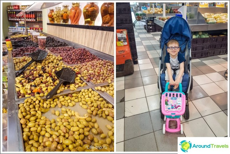 Supermarketissa jokaisella on oma fetissi: Minulla on oliiveja, Yegorilla on kärry