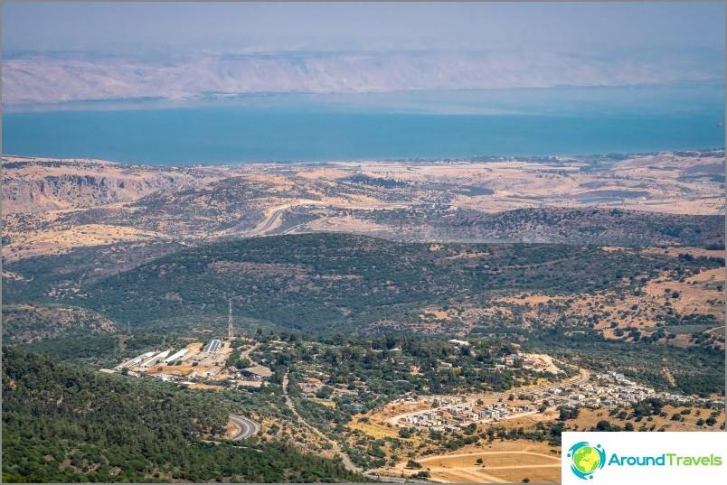 Matkaa Galilean merelle