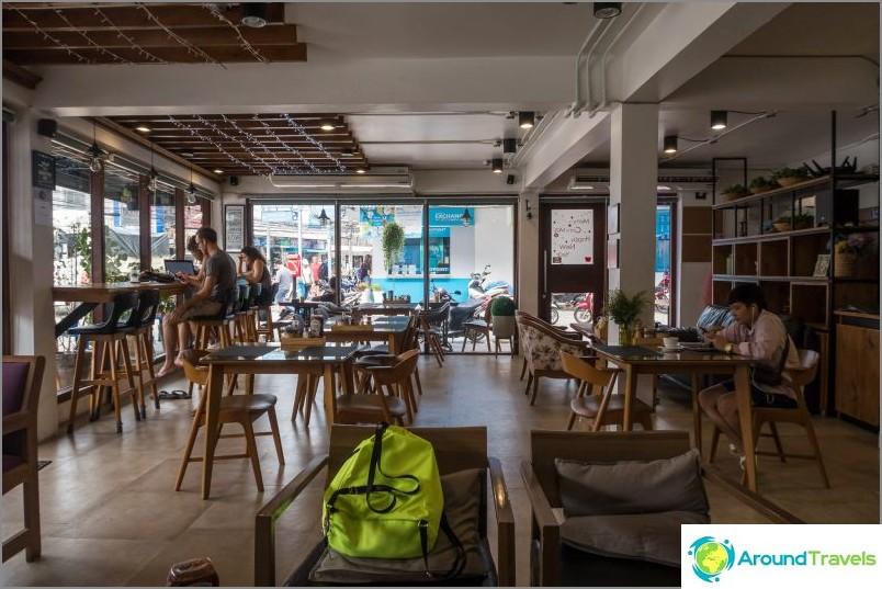 Doppio Cafe på Phangan
