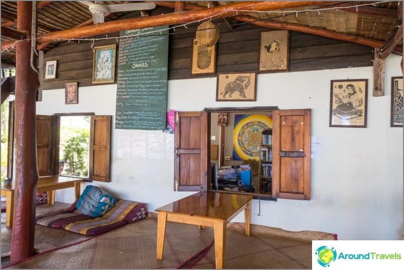 Orion Center on Phangan - caffetteria vegetariana, sauna, yoga e disintossicazione