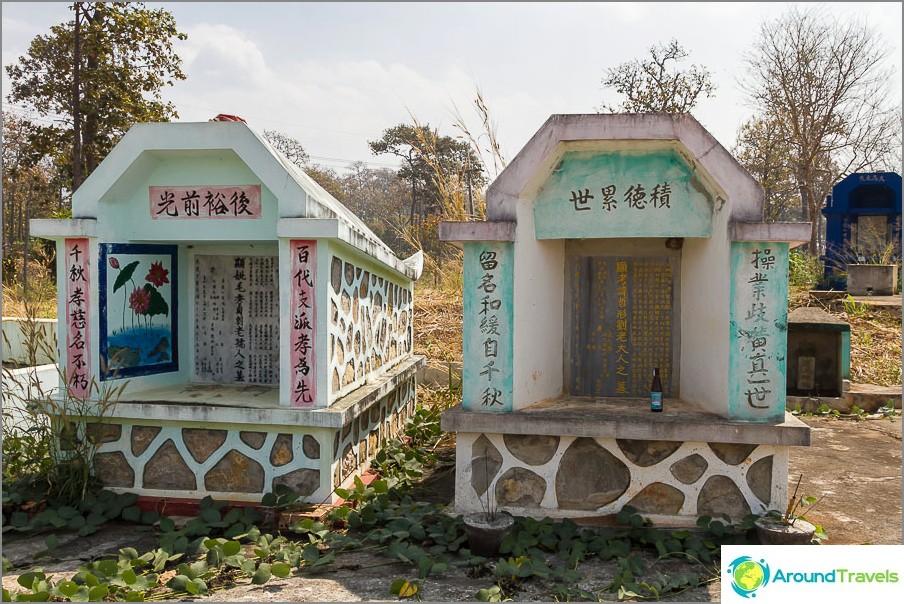 Kiinalaiset haudat ovat aika kauniita