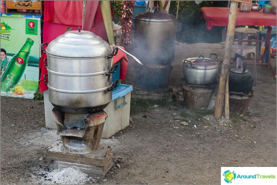 Kuumat lokit ja ruoka Ang Khangin näkökulmasta