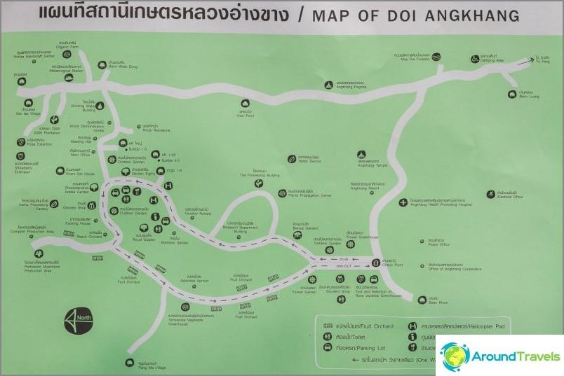 Doi Ang Khang -kartta (napsautettavissa)