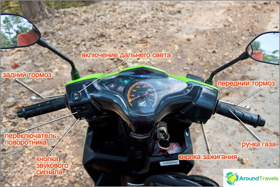 Moottoripyörän hallinta
